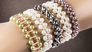 Ideen mit Herz - Perlen-Armband - Einfache Fädelanleitung - DIY Schmuck