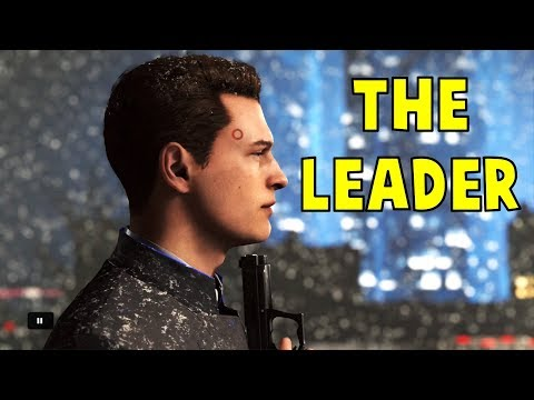 Connor Leads the Revolution After the Death of Markus and North - Detroit Become Human HD PS4 Pro