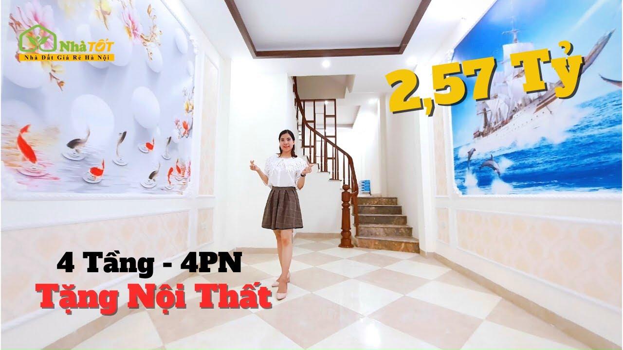 image Dương Nội, Hà Đông - Tặng Điều Hòa, Nội Thất 33m2 X 4 Tầng, 4PN   nhà TỐT