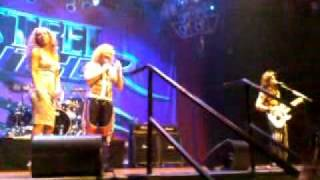 Chris Rogers and Stu at Steel Panther im Las Vegas