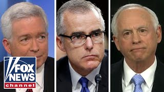 Former high-ranking FBI officials on Andrew McCabe's alarming admissions