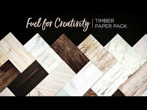 Timber Paper Pack   Creative Memories Australia