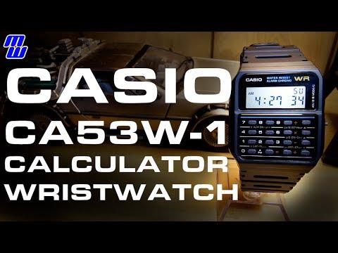 Casio Ca53w 1 Calculator Watch 80s Nostalgia To Bring You Back