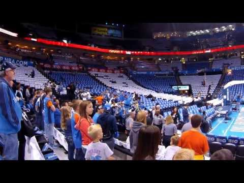 Thunder VS Rockets 2013 Playoffs (LIVE@Chesapeake Arena) - 雷霆vs火箭