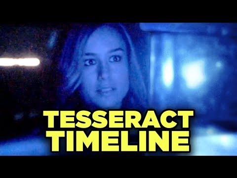 Captain Marvel TESSERACT Explained! New Marvel Timeline Breakdown!