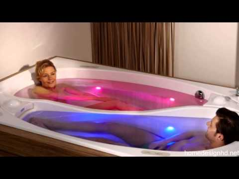 How to share your bathtub without actually sharing it for Bathroom ideas for couples