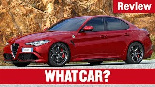 2018 Alfa Romeo Giulia Quadrifoglio Review | What Car?