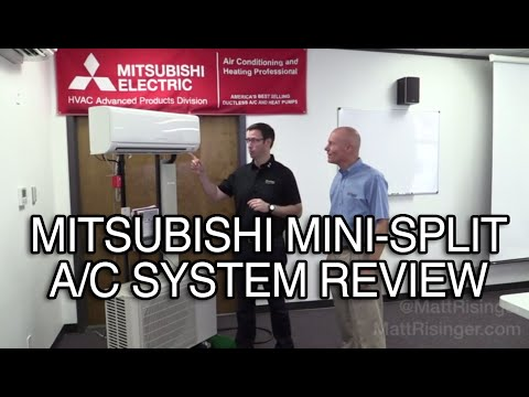 Mitsubishi Mini-Split A/C system review