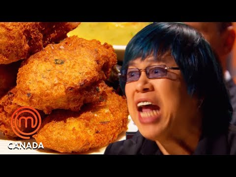 Alvin Leung Enraged By Home Cook Ruining Delicate Fish | MasterChef Canada | MasterChef World