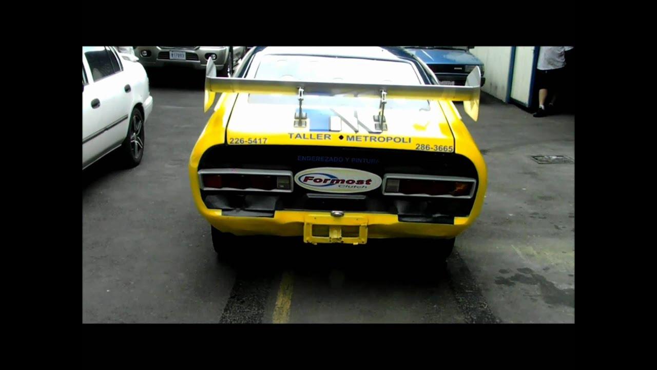 Coupe Datsun 120Y fastback Gustavo Perez. Piloto ...