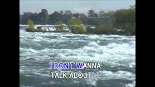 I Don't Want To Talk About It (Karaoke) - Style of Rod Stewart
