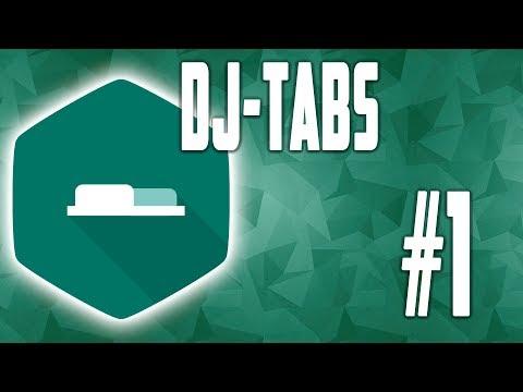 DJ Tabs - компонент табов для CMS Joomla