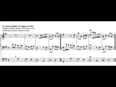 14 Goldberg Kanons BWV 1087 (arr. for organ)