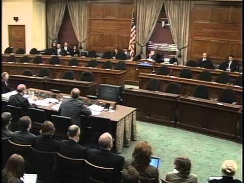 "March 13th, 2008: Select Committee Hearing, ""Massachusetts v U.S. EPA Part II"""