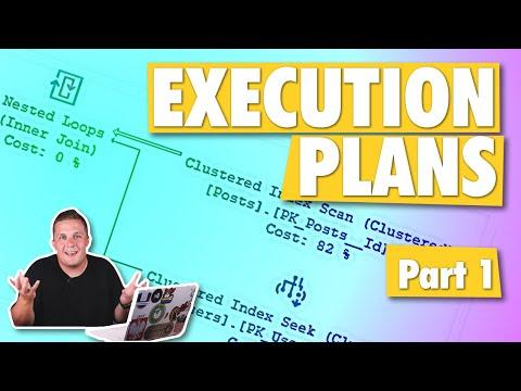 SQL Server Execution Plans - Part 1