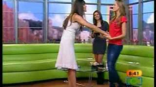 Lorena Meritano mostrando tanga en MBD
