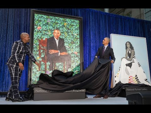 Inside The Obama Portraits Unveiling