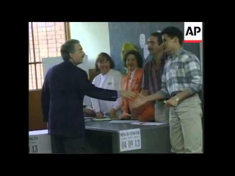 COLOMBIA: VOTING BEGINS IN PRESIDENTIAL ELECTIONS (2)