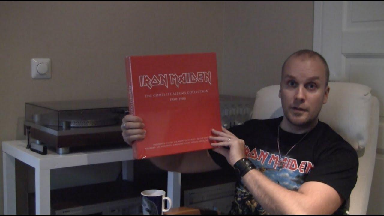 Unboxing The Iron Maiden 2014 Vinyl Reissue Box Set Youtube