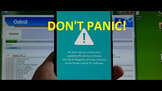 How to fix An error has occurred while updating the device software Emergency