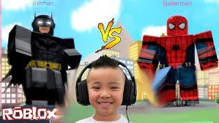SUPERHERO BRAWL Roblox Fun Game With CKN Gaming