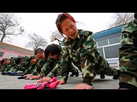 Китайский лагерь для лечения геймеров
