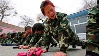 Китайские лагеря для лечения игромании у детей