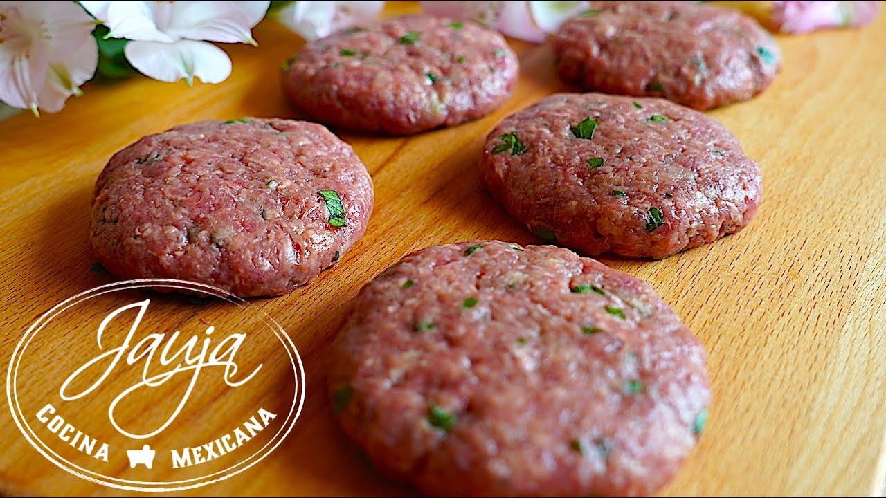 Cómo Preparar Carne Para Hamburguesas Jugosas y Bien Suavecitas