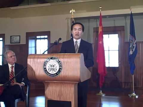 Remarks by Dr. Bevan Zhang, Linuo Solar Group Co. @ Marist College 2011-09-23