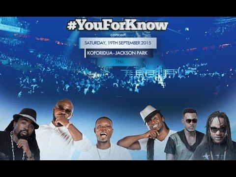 Obrafour - TiGO You For Know concert in Koforidua