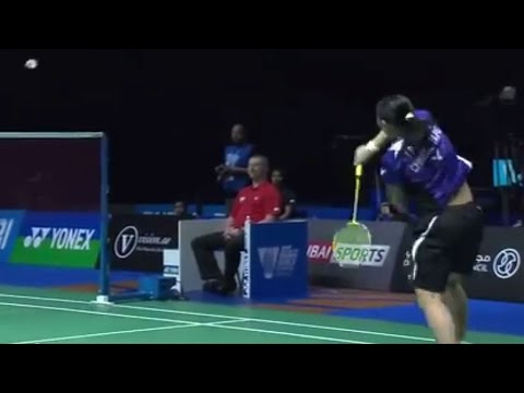 W.Yihan v T.Tzu Ying |WS| Day 2 Match 1 - BWF Destination Dubai 2014