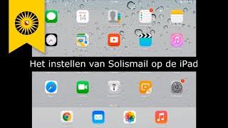Video-instructie: Solismail instellen op de iPad