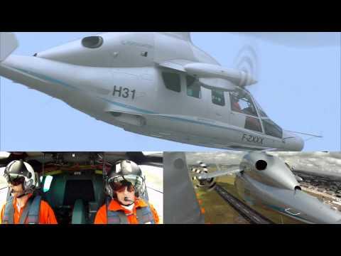 X3 Paris Air show Flight Demo