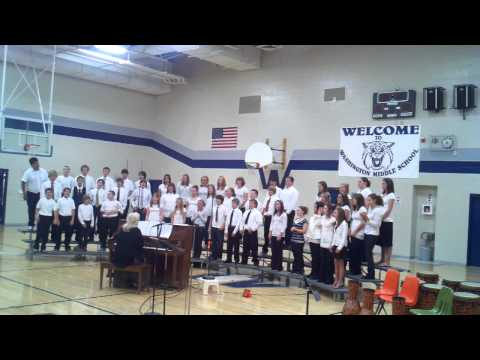 Washington Middle School Choir Missoula