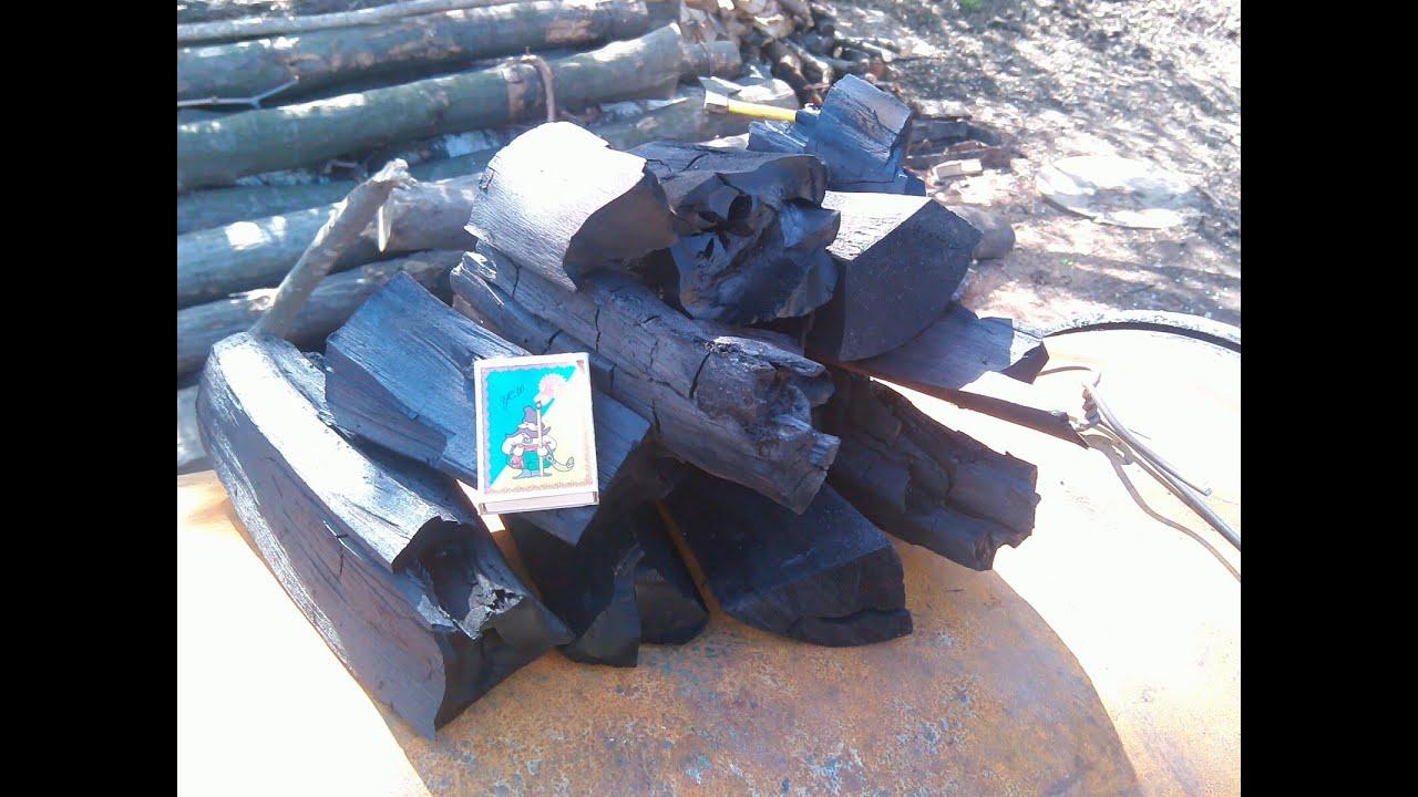 уголь древесный фото