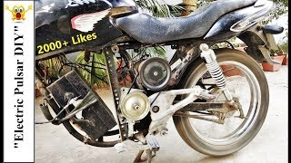 How to convert a old petrol bike to Electric