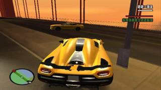 Gta San Andreas koenigsegg agera r 2014 VS Ford Mustang Gt 2015