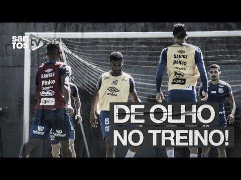 SANTOS SE REAPRESENTA NO CT PARA SEQUÊNCIA DO BRASILEIRÃO | DE OLHO NO TREINO (13/08/19)