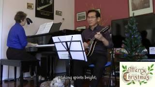Jingle Bells (Tiếng Chuông Ngân)- Mandolin: Đăng Thảo, Piano: Ros Hewton