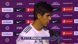 #CU20 Flash Zone Interview: United States 2 - 0 Mexico
