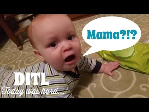 Today Was a Hard Day || Day in the Life || DID HE JUST SAY MAMA?!?!