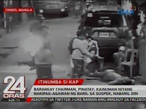 Barangay chairman, pinatay; kainuman niyang nakipag-agawan ng baril sa suspek, nabaril din