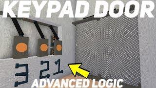 Tutorial de la puerta del teclado! ¡Lógica avanzada! Roblox Lumber Tycoon 2