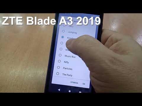 ZTE Blade A3 2019 Incoming Call And Ringtones. Входящий вызов и мелодии звонка (fixed Version )