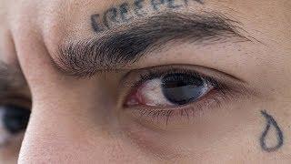 Nunca te tatúes una lagrima en el ojo si no sabes cual es su significado