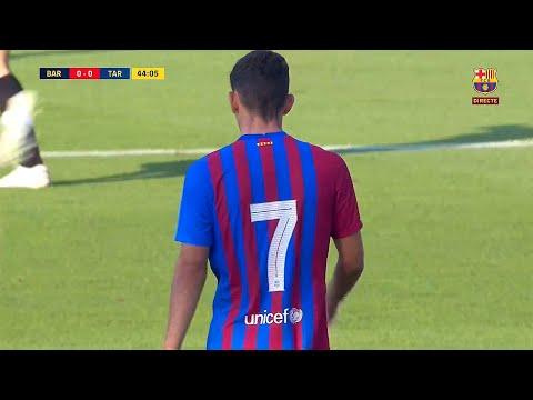 Yusuf Demir Debut vs Gimnàstic   21/07/2021