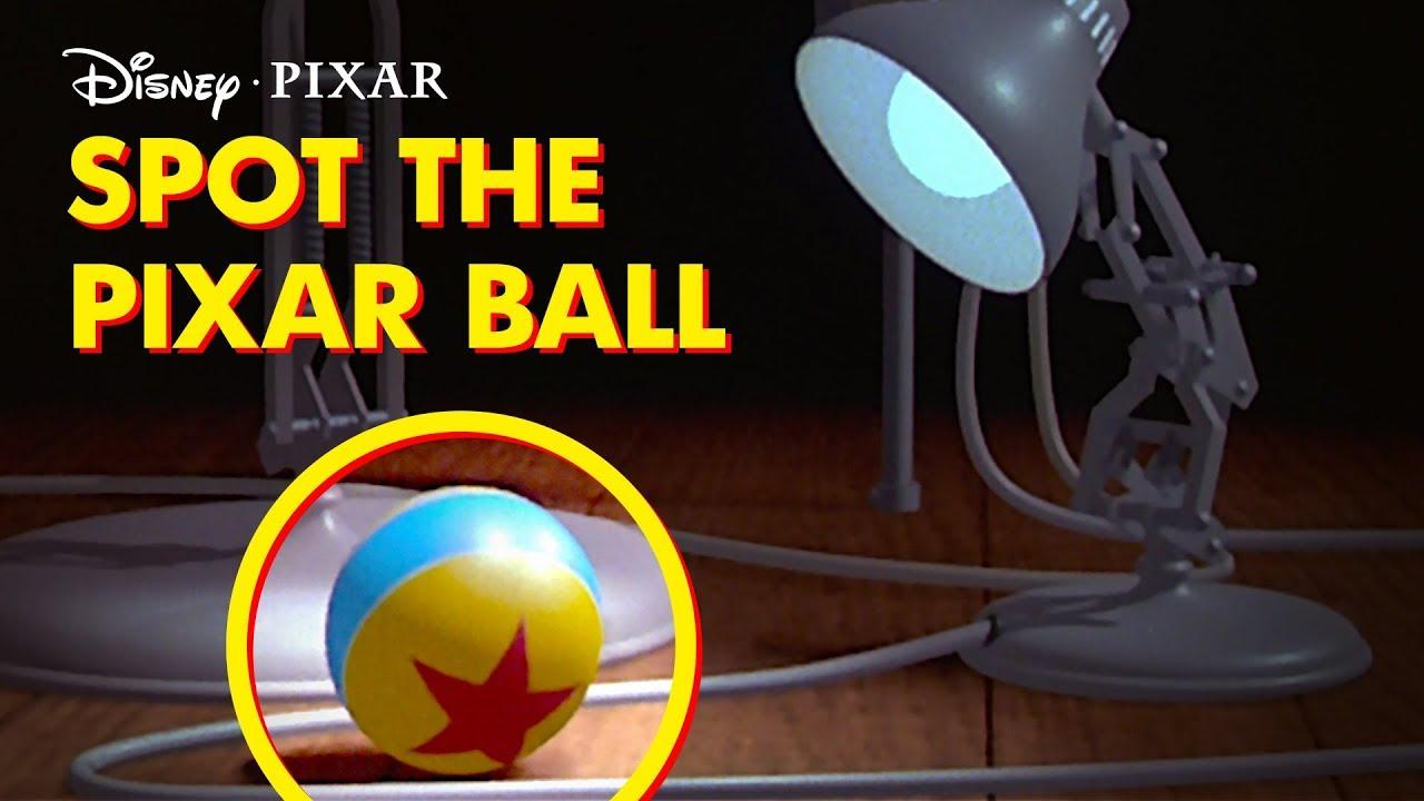 luxo ball easter eggs disney pixar