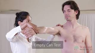 The Exam for Shoulder Pain - Stanford Medicine 25