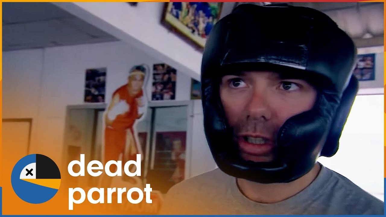Download Karl Pilkington Takes Part In Blindfolded Kickboxing Contest | An Idiot Abroad S2 Ep3 | Dead Parrot