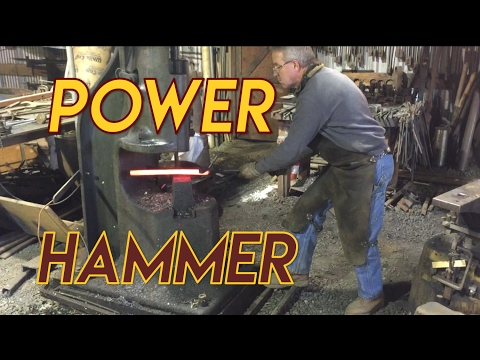 200lb Chambersburg Blacksmith Power Hammer